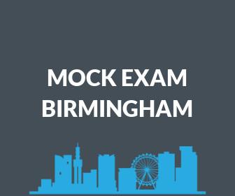 Mock Exam ( Birmingham)