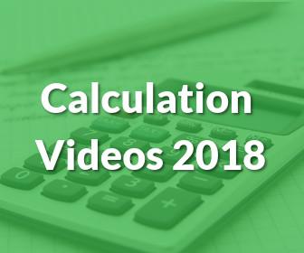 Calculation Videos 2018